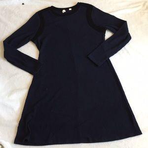 Cozy Gap Sweater Dress